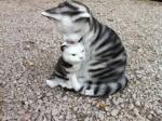Mačka s mačiatkom
